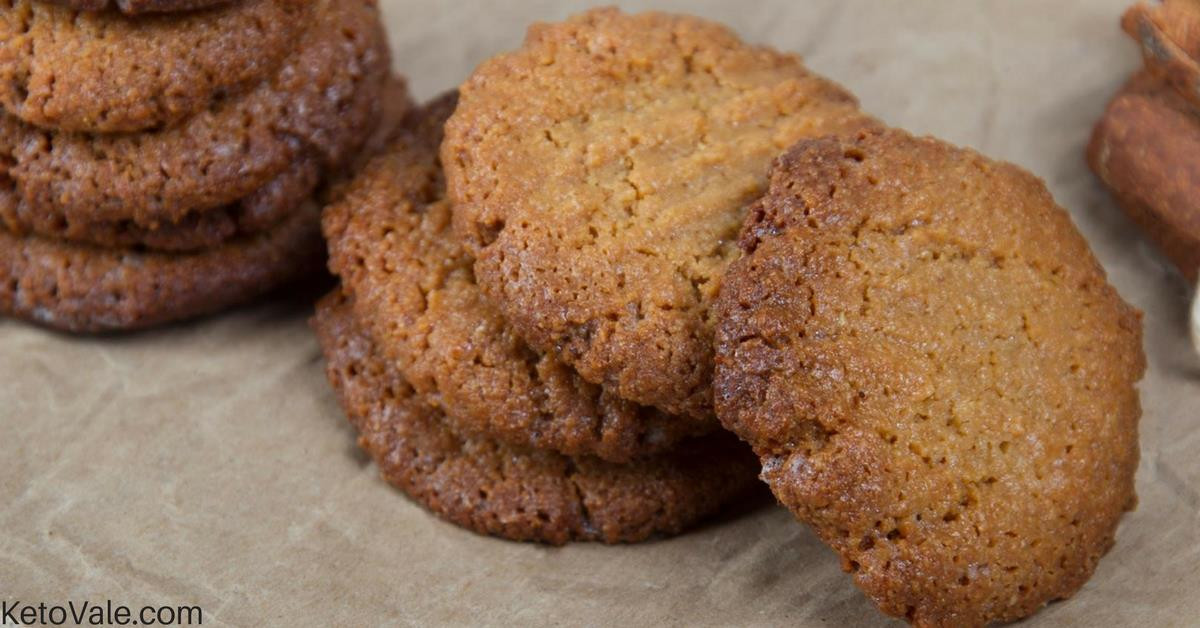 Keto Cookies Peanut Butter  Peanut Butter Cookies Low Carb Recipe
