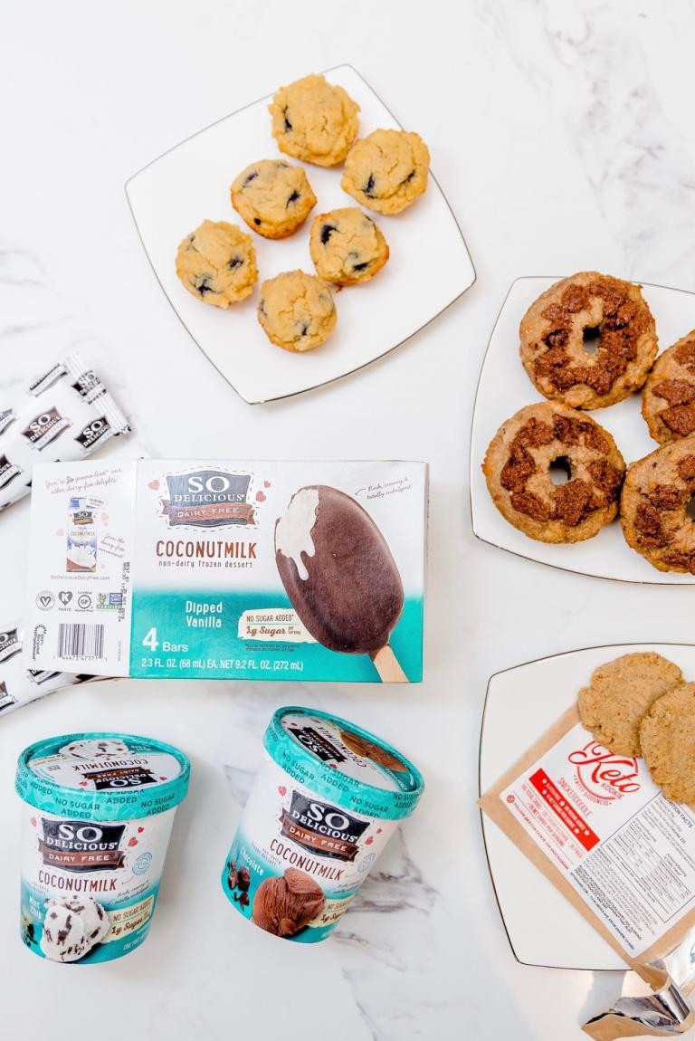 Keto Desserts To Buy  Tastiest Low Carb Donuts Cookies & Ice Cream