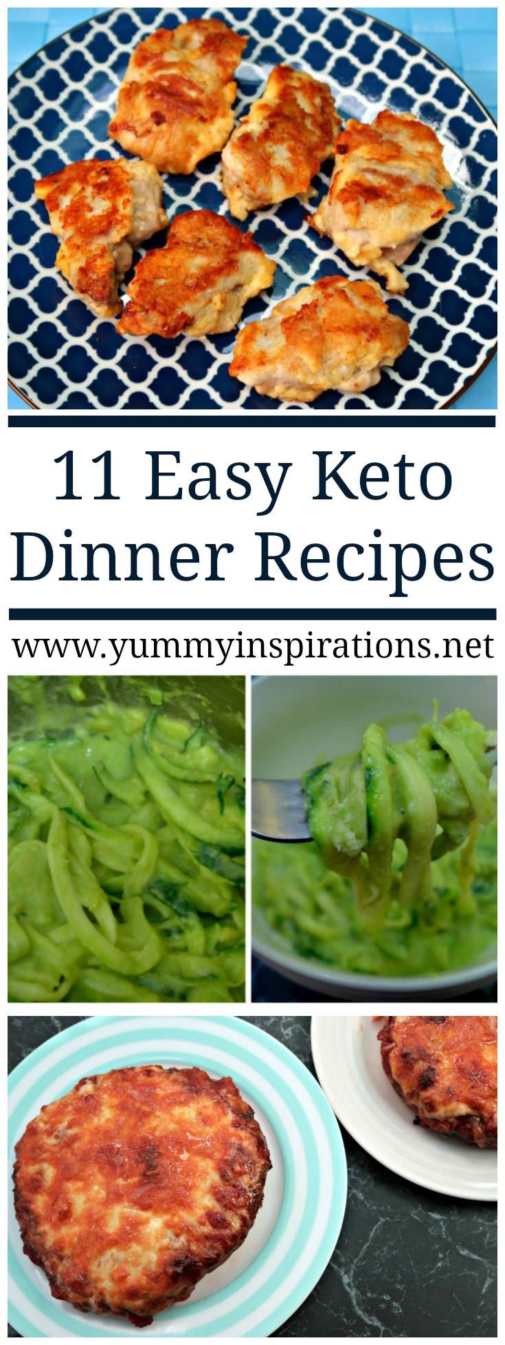 Keto Diet Dinner Ideas  11 Easy Keto Dinner Recipes Quick Low Carb Ketogenic