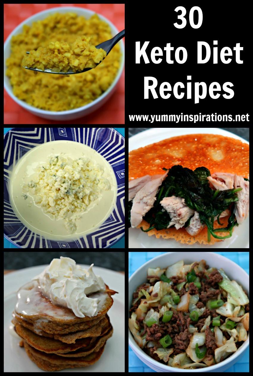 Keto Diet Dinner Ideas  30 Keto Diet Recipes Easy Low Carb & Ketogenic Diet Ideas