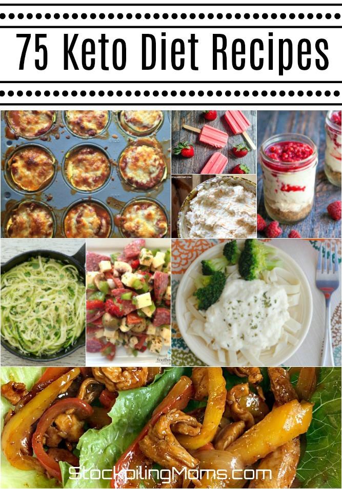 Keto Diet Dinner Ideas  75 Delicious Keto Diet Recipes