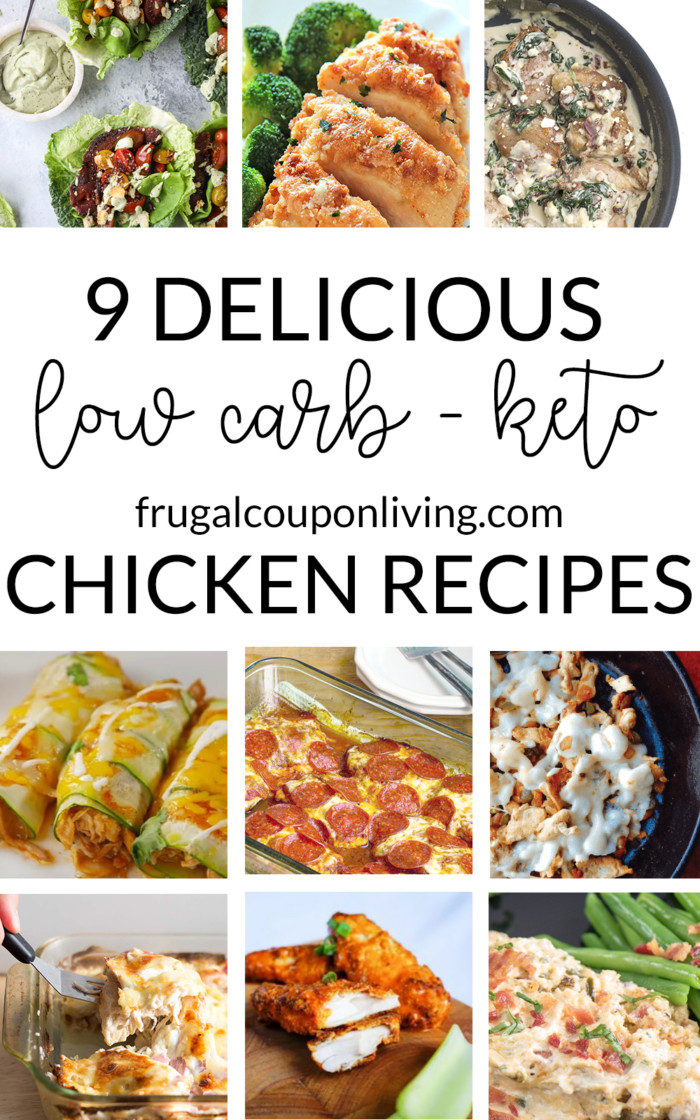 Keto Diet Dinner Ideas  9 Delicious Low Carb Keto Diet Chicken Recipes for Dinner