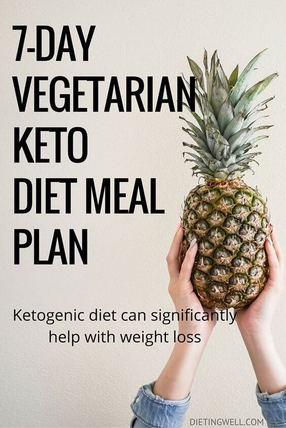Keto Diet For Vegetarians  Cycling Ketosis Diet Meal Plans dginter