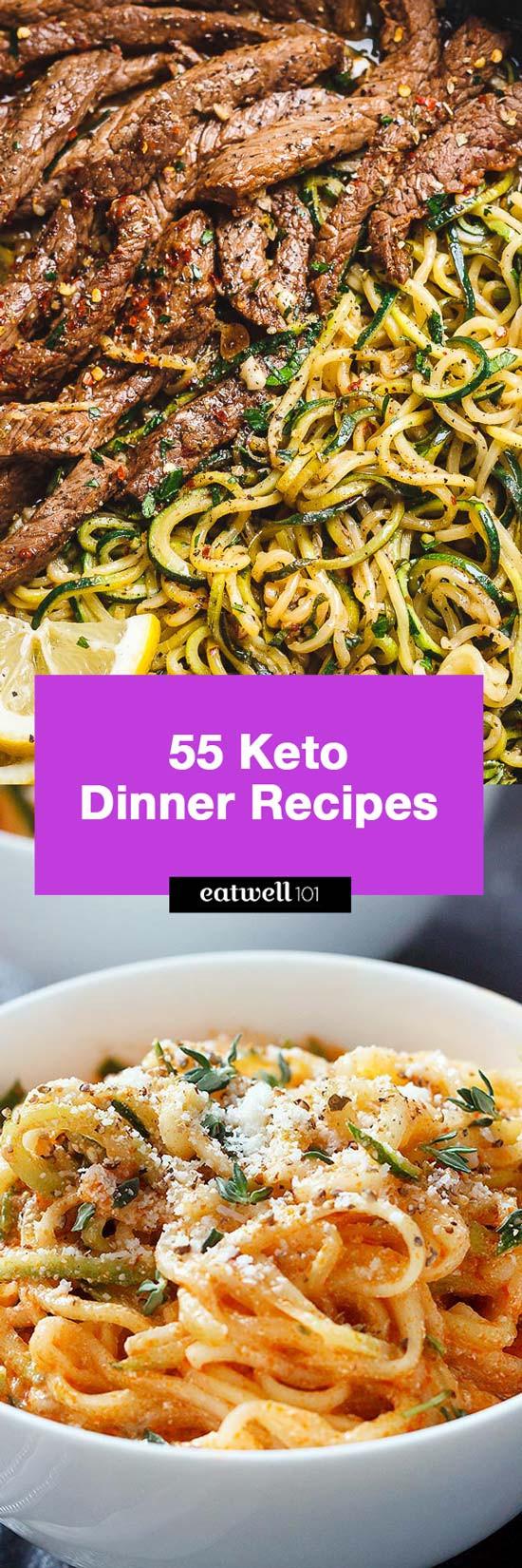 Keto Dinner Recipe  Easy Keto Dinner Recipes – 65 Quick Recipe ideas for Keto
