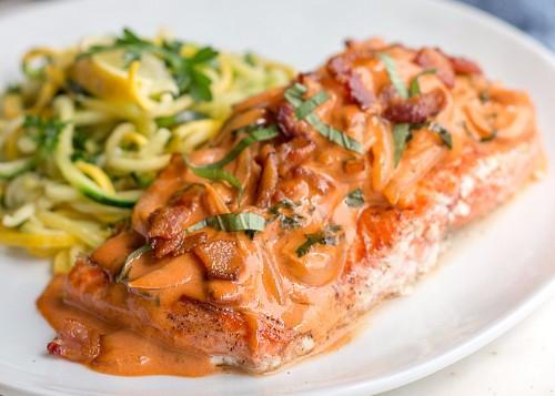 Keto Dinner Recipe  Keto Diet Salmon Recipe