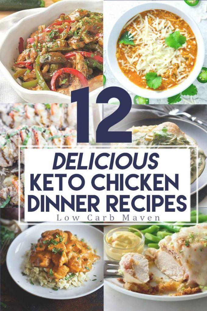 Keto Dinner Recipes  Best 25 Keto chicken ideas on Pinterest