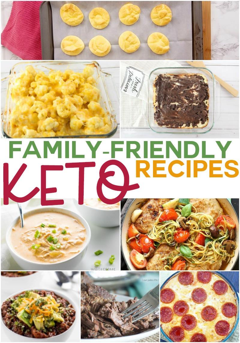 Keto Dinner Recipes  Family Friendly Keto Recipes The Whole Family Will Love