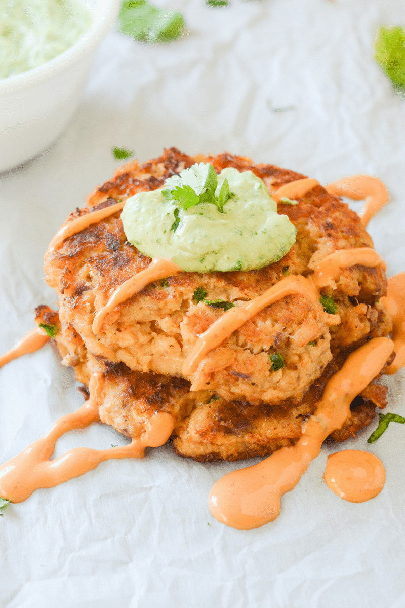 Keto Dinner Recipes  Easy Keto Salmon Cakes Hey Keto Mama