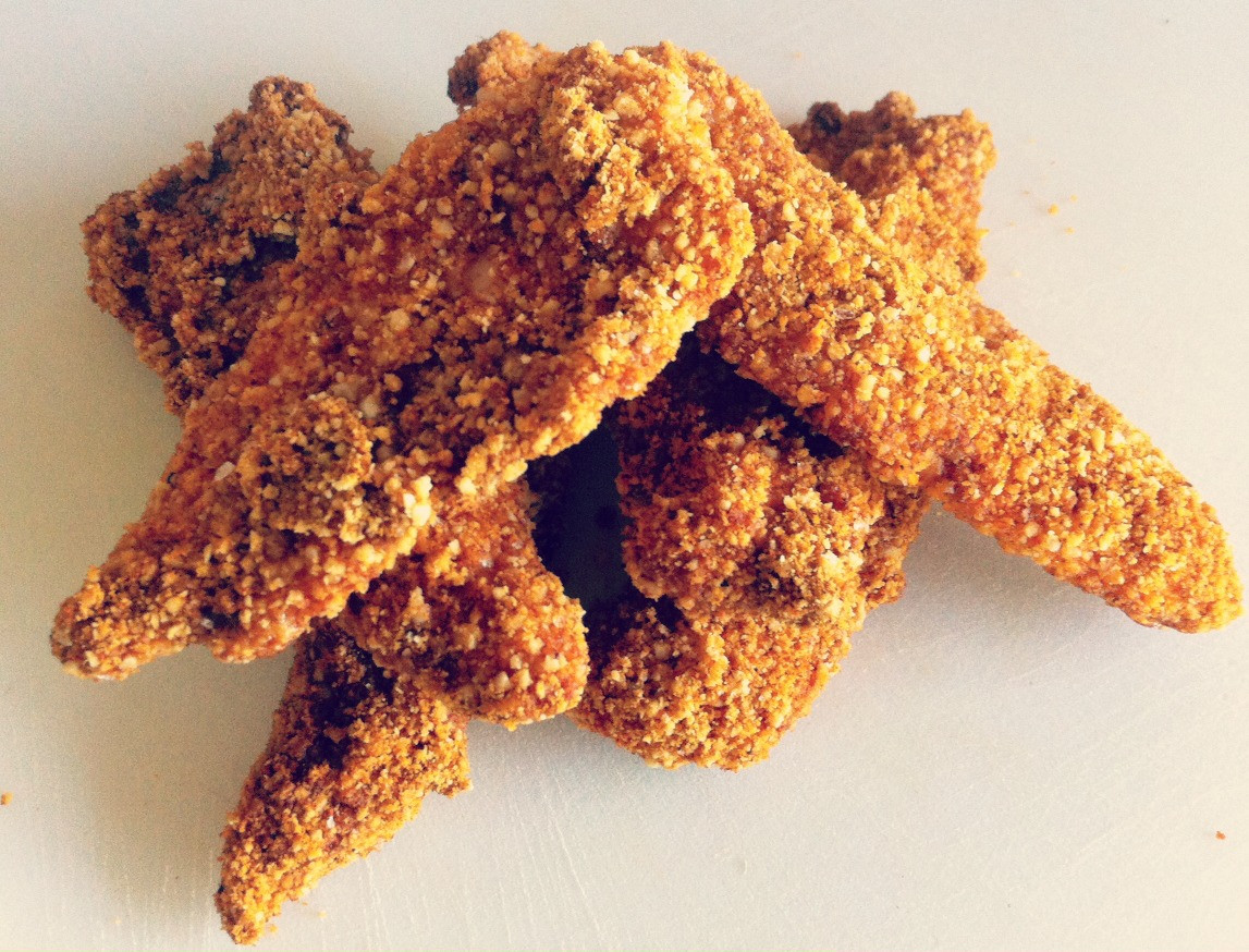 Keto Fried Chicken Almond Flour  Keto Southern Fried Chicken Tenders