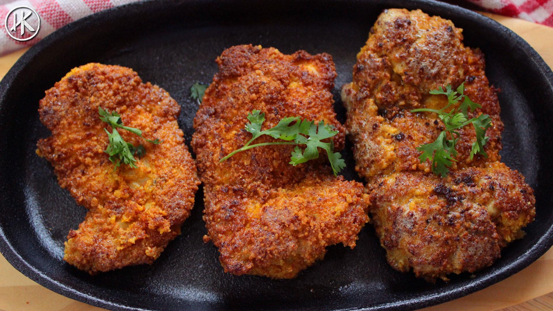 Keto Fried Chicken Almond Flour  Keto Breadcrumbs