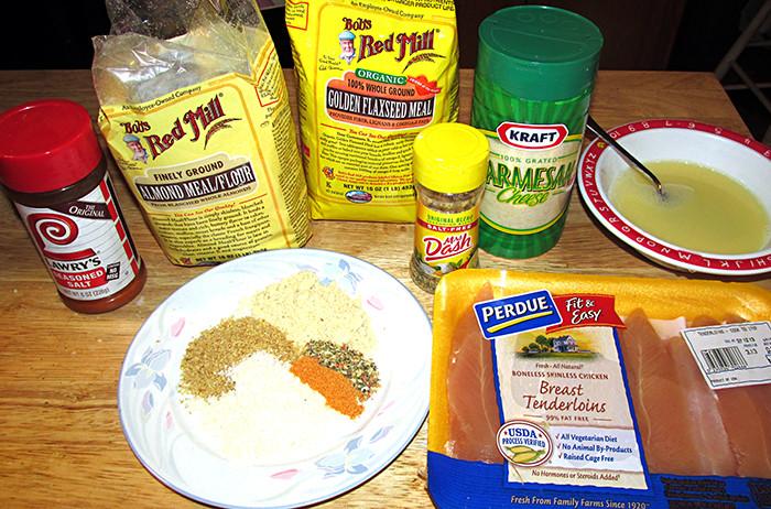 Keto Fried Chicken Almond Flour  almond flour chicken tenders keto