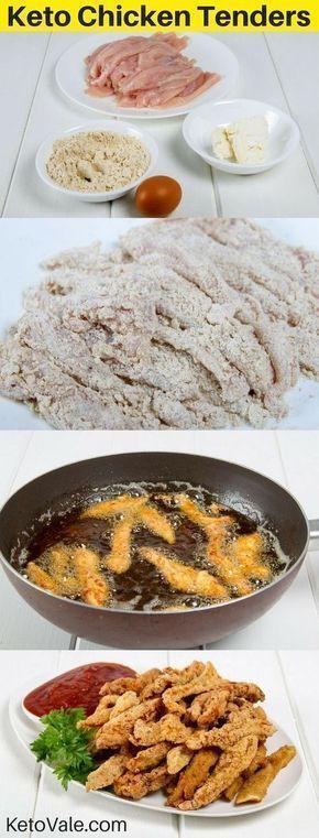 Keto Fried Chicken Almond Flour  Keto Fried Chicken Tenders with Almond Flour