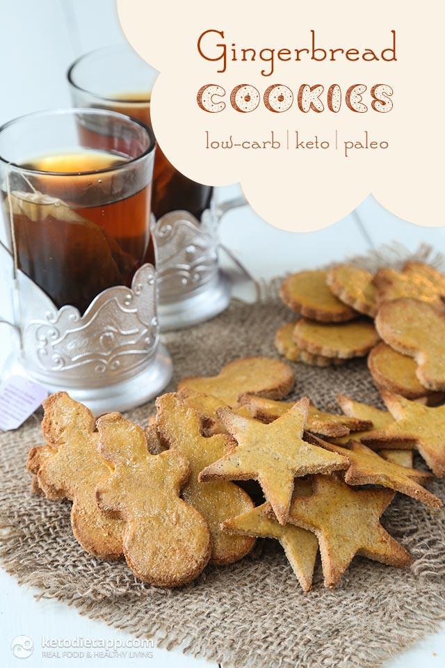Keto Gingerbread Cookies  Nut Free Keto Gingerbread Cookies