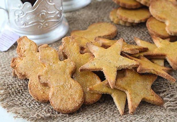 Keto Gingerbread Cookies  Keto Christmas Cookies