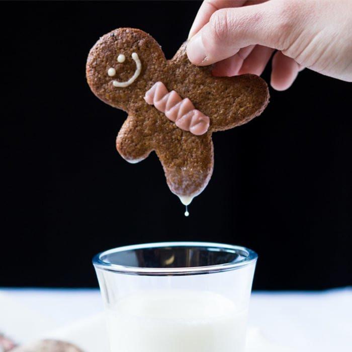 Keto Gingerbread Cookies  Gluten Free & Keto Gingerbread Cookies 🍪 Nice n Crisp