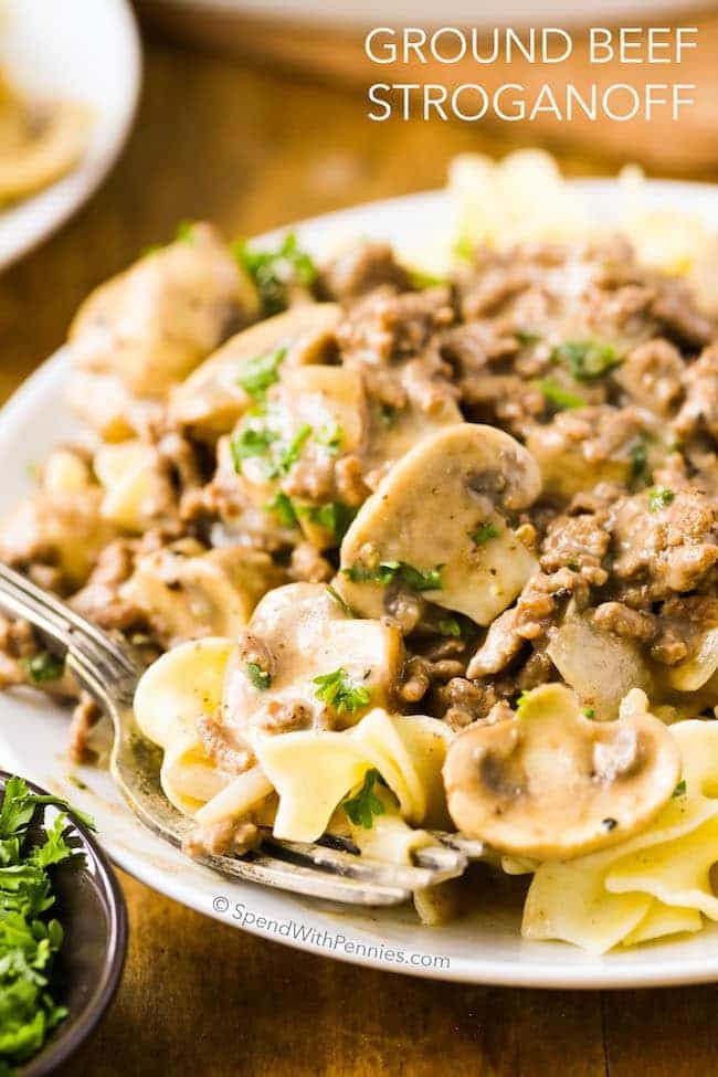 Keto Ground Beef Stroganoff  Best 25 Ground beef stroganoff ideas on Pinterest