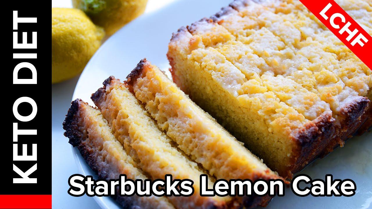 Keto Lemon Pound Cake  Ketogenic Lemon Cake