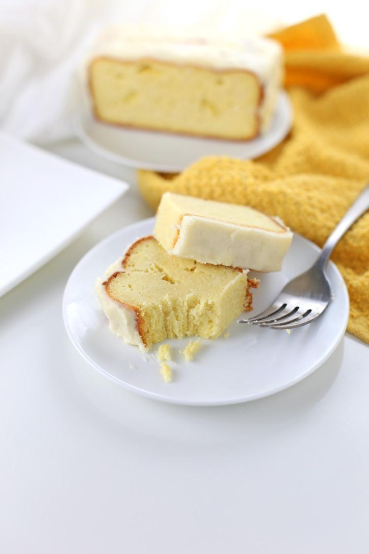 Keto Lemon Pound Cake  Low Carb Lemon Pound Cake Gluten free Keto friendly