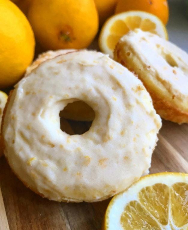 Keto Lemon Pound Cake  Keto lemon poundcake donuts KetoDietForHealth