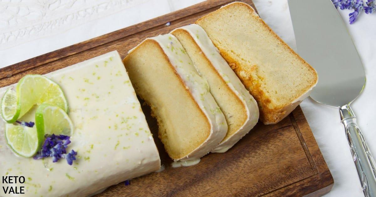Keto Lemon Pound Cake  Keto Lemon Vanilla Pound Cake Gluten Free Low Carb Recipe
