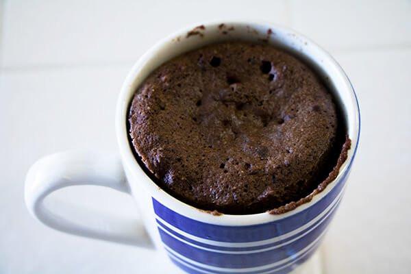 Keto Mug Cake Coconut Flour  Coconut Flour Chocolate Keto Mug Cake