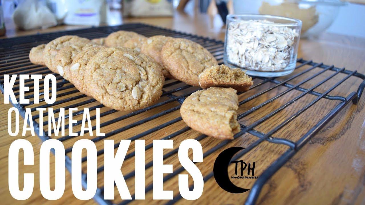 Keto Oatmeal Cookies  Keto Oatmeal Cookies