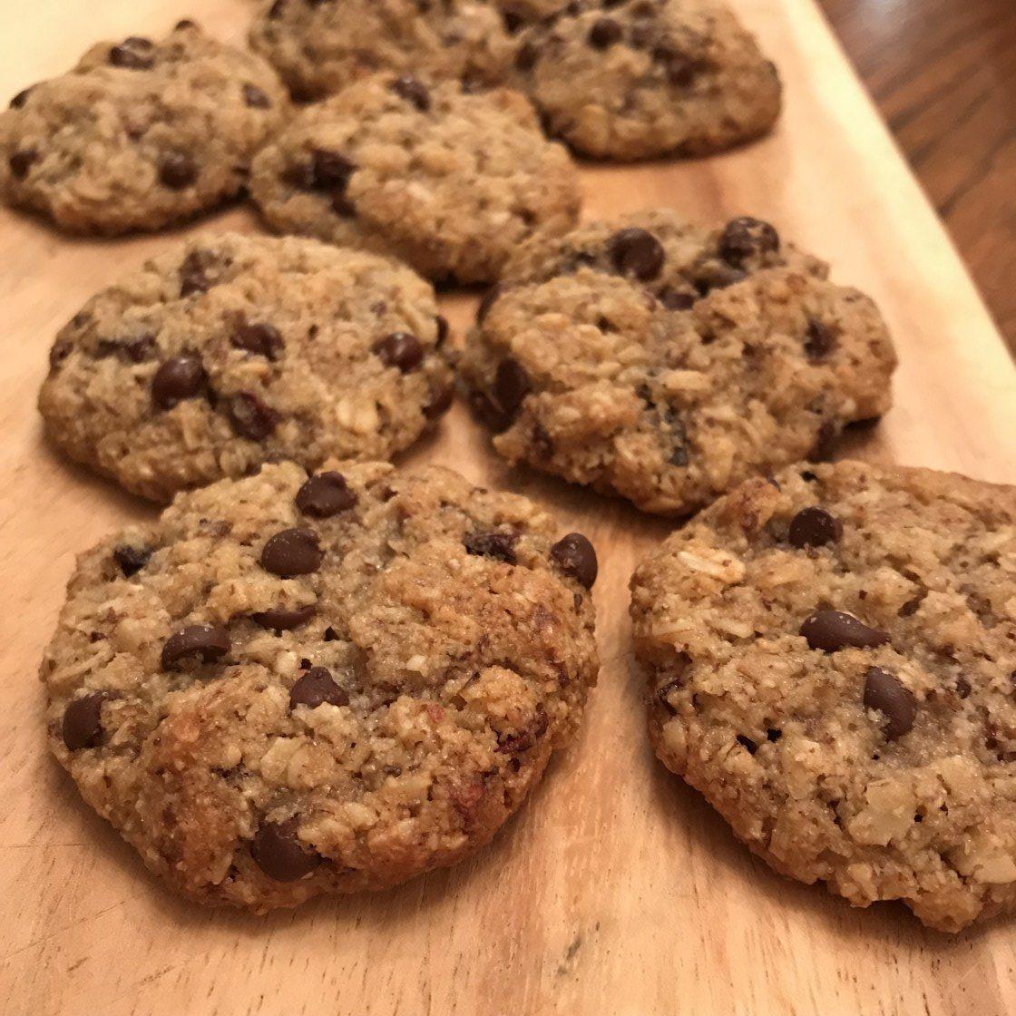 Keto Oatmeal Cookies  Ketogenic Oatmeal Cookies