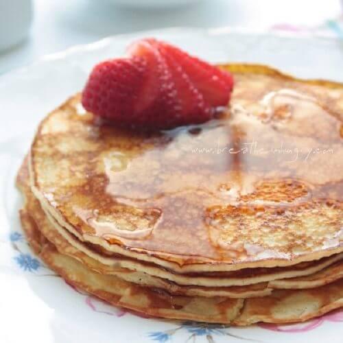 Keto Pancakes With Cream Cheese  Cream Cheese Pancakes Low Carb & Gluten Free IBIH