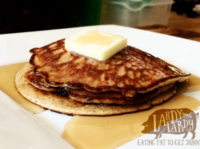Keto Pancakes With Cream Cheese  How to Make Cream Cheese Pancakes LC GF Keto Recipe
