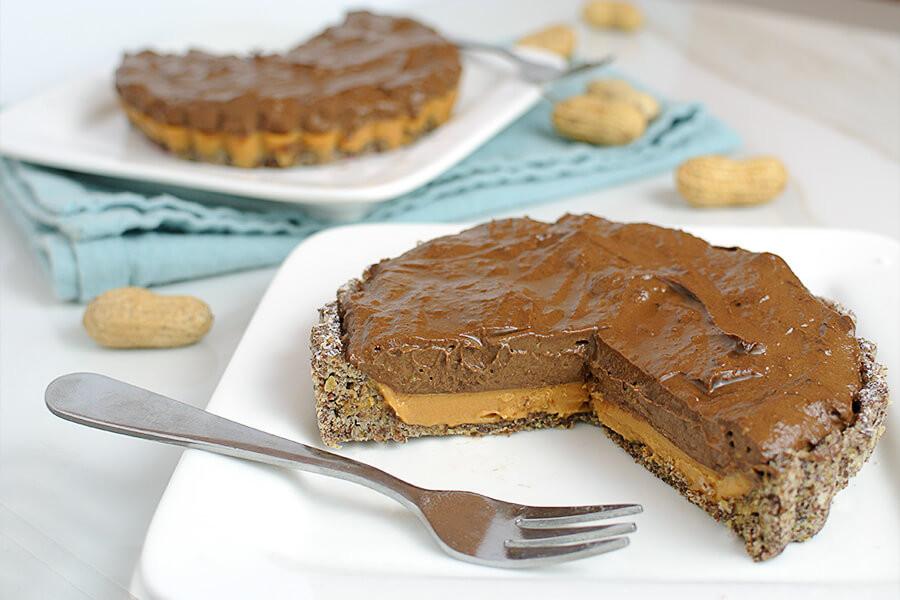 Keto Peanut Butter Pie  keto chocolate peanut butter pie
