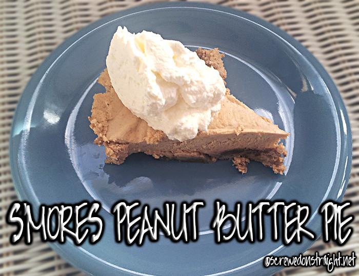 Keto Peanut Butter Pie  Deliciously Keto Peanut Butter Pie S mores Edition