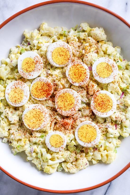 Keto Potato Salad  Low Carb Potato Salad