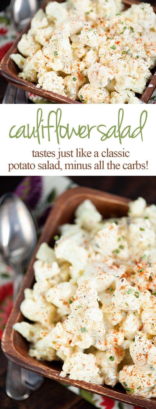 Keto Potato Salad  Best 25 Cauliflower potato salads ideas on Pinterest