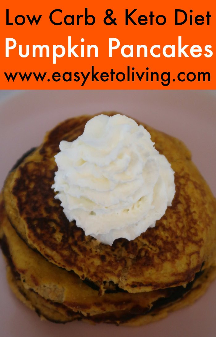 Keto Pumpkin Pancakes  Keto Pumpkin Pancakes Recipe Easy Low Carb Coconut Flour