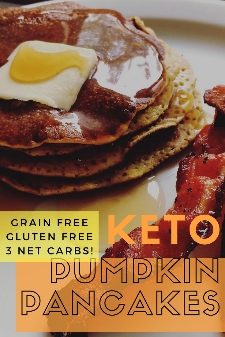 Keto Pumpkin Pancakes  Low Carb Keto Pumpkin Pancakes This Mom s Menu