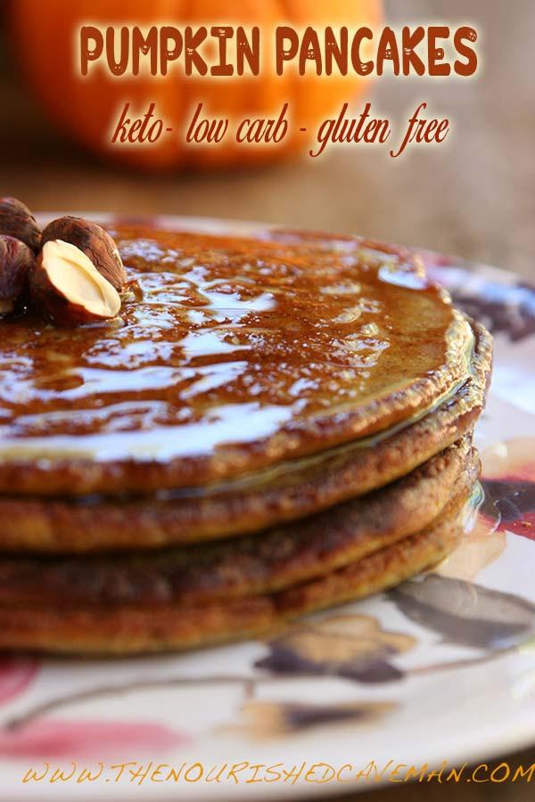 Keto Pumpkin Pancakes  Keto Low carb and Gluten Free Pumpkin Pancakes