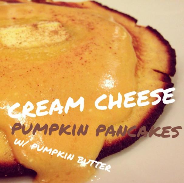 Keto Pumpkin Pancakes  Low Carb Cream Cheese Pumpkin Pancakes WickedStuffed