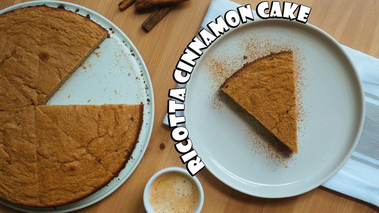 Keto Ricotta Dessert  Keto Cinnamon Ricotta Cake