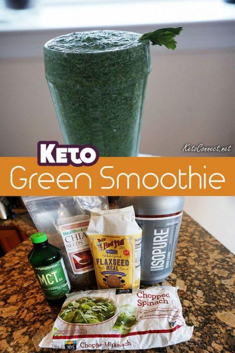 Keto Smoothie Recipes  5 Ingre nt Keto Green Smoothie