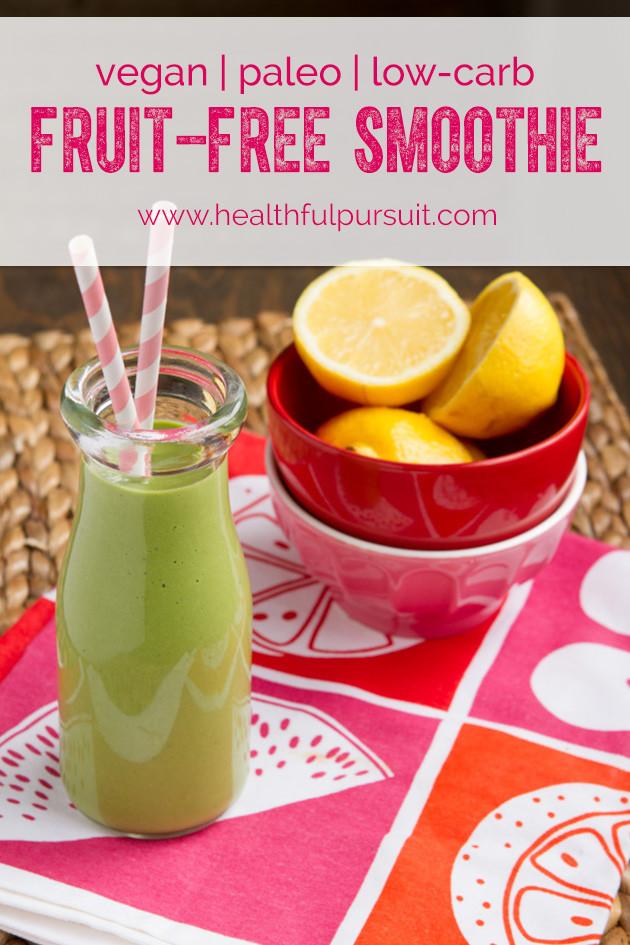 Keto Smoothie Recipes  Keto Fruit Free Green Smoothie