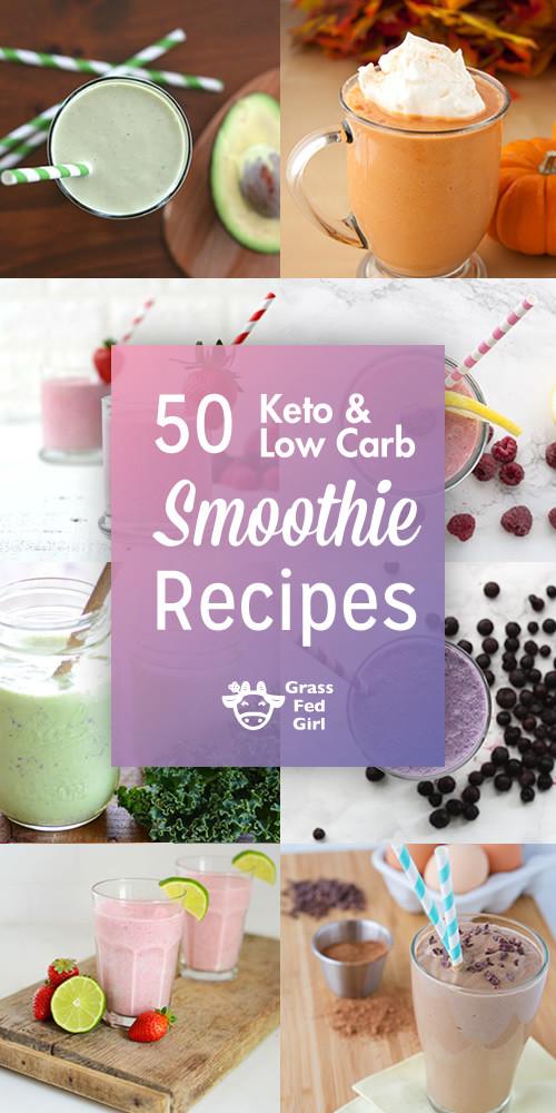 Keto Smoothie Recipes  Low Carb and Keto Smoothies
