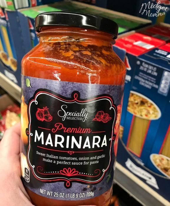 Keto Spaghetti Sauce  The Best Keto Shopping List for Aldi • Mid Momma