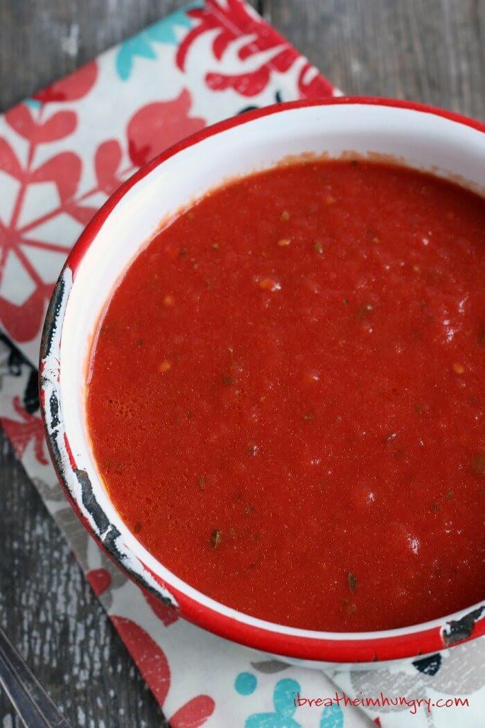 Keto Spaghetti Sauce  Easy Keto Marinara Sauce Low Carb