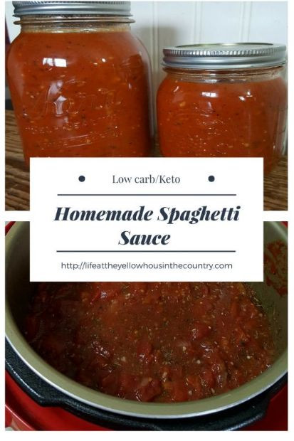 Keto Spaghetti Sauce  Instant Pot Low Carb Keto Spaghetti Sauce Recipe