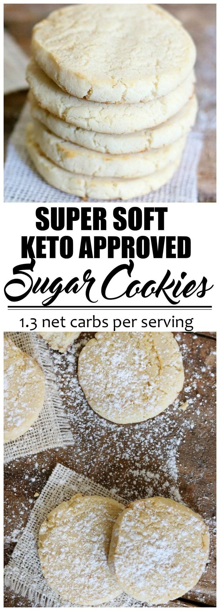 "Keto Sugar Cookies  Keto Fathead ""Sugar"" Cookies The BEST no really Keto"