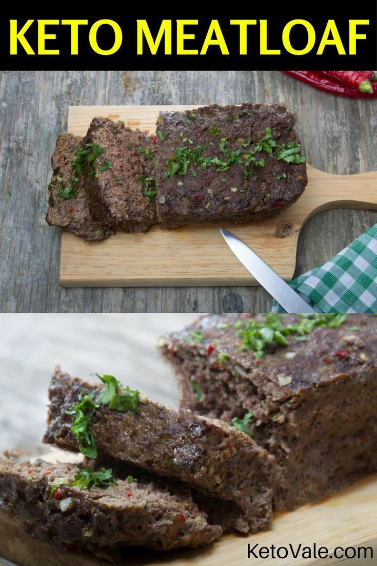 Keto Turkey Meatloaf  Easy Beef Meatloaf Low Carb Recipe