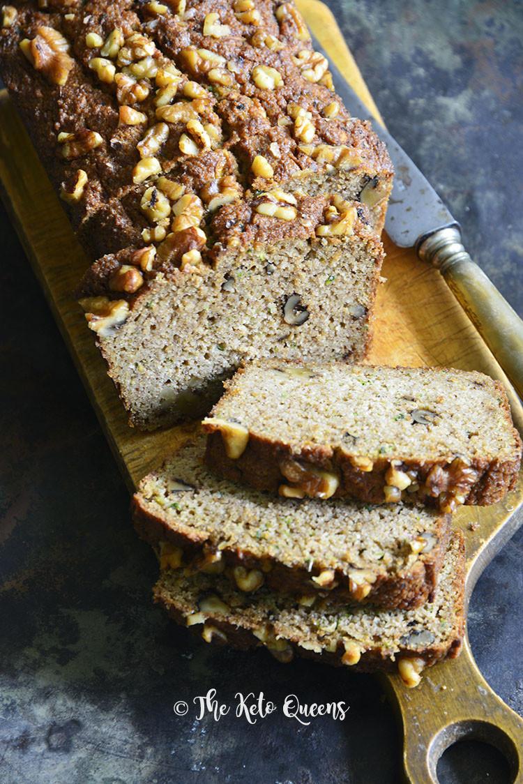 Keto Zucchini Bread  Low Carb Zucchini Bread Recipe Great for Brunch