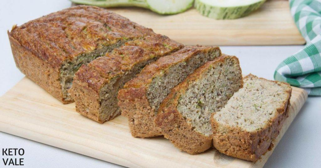 Keto Zucchini Bread  Keto Zucchini Coconut Bread Low Carb Gluten Free Recipe
