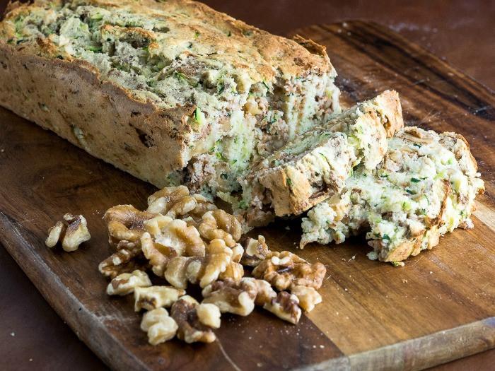 Keto Zucchini Bread  Keto Zucchini and Walnut Bread