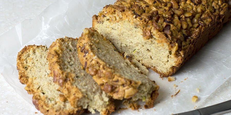 Keto Zucchini Bread  Keto Zucchini Bread with Walnuts
